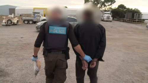 Police uncover biggest haul of illicit drug ice in South Australia's