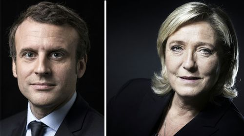 Macron and Le Pen qualify for French presidential run-off