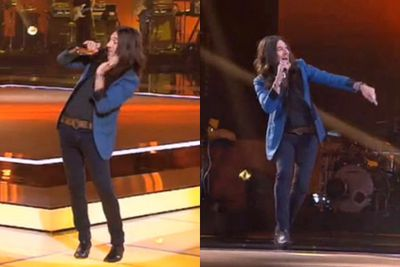 """Who's got the moves like Jagger? Why, Simon Meli does!<br/><br/><b><a href=""""http://www.thevoice.com.au/"""">For the latest updates, visit The Voice official website.</a></b>"""