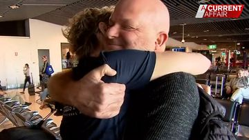 Hero health workers return home after lifesaving mission