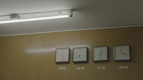 Clocks dialed into world's different time zones hang on the wall at Foiwe. The Bangalore company has clients in the Americas, Russia, Europe, Asia and India. Source: Supplied