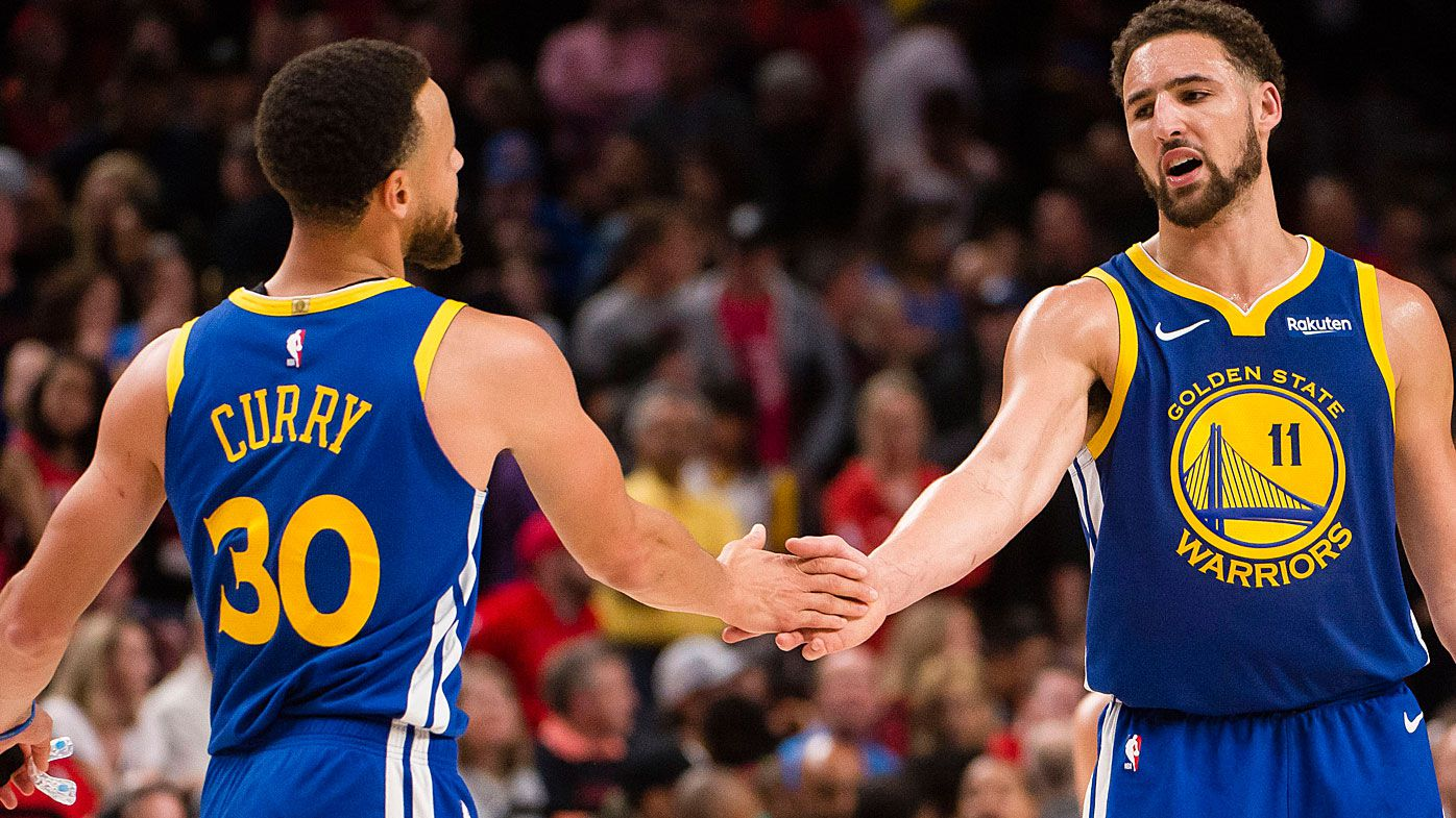 Warriors duo Steph Curry and Klay Thompson