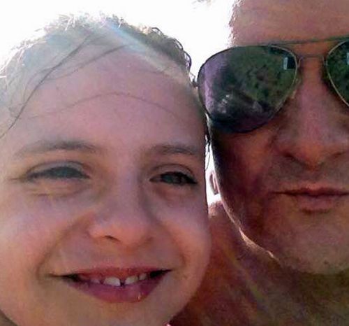 A supplied image obtained Monday, Oct. 17, 2016 of Fernando Manrique's and his daughter Elisa.