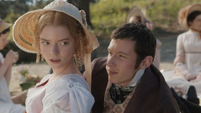 Scene from 2020 movie adaptation of Jane Austen's Emma