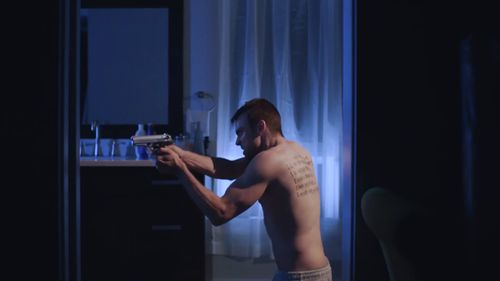 A still from the film based on Pistorious' life.