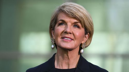 Julie Bishop's final words as Foreign Minister left a lasting impression.