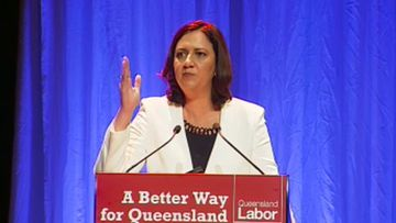 Queensland opposition leader Annastacia Palaszczuk.