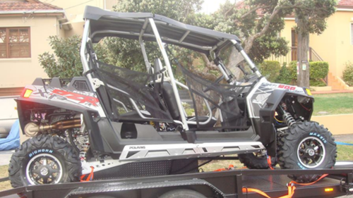 The buggy is described as a dark grey coloured Polaris model from 2002. (NSW Police)