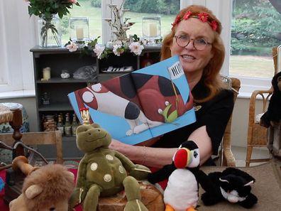 Sarah Ferguson reading time