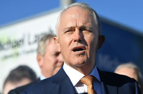"""You are not going to make it go away by pretending it doesn't exist,"" Mr Turnbull told reporters. Picture: AAP"
