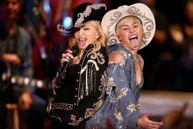 Miley Cyrus, spilt, statement, madonna, comment