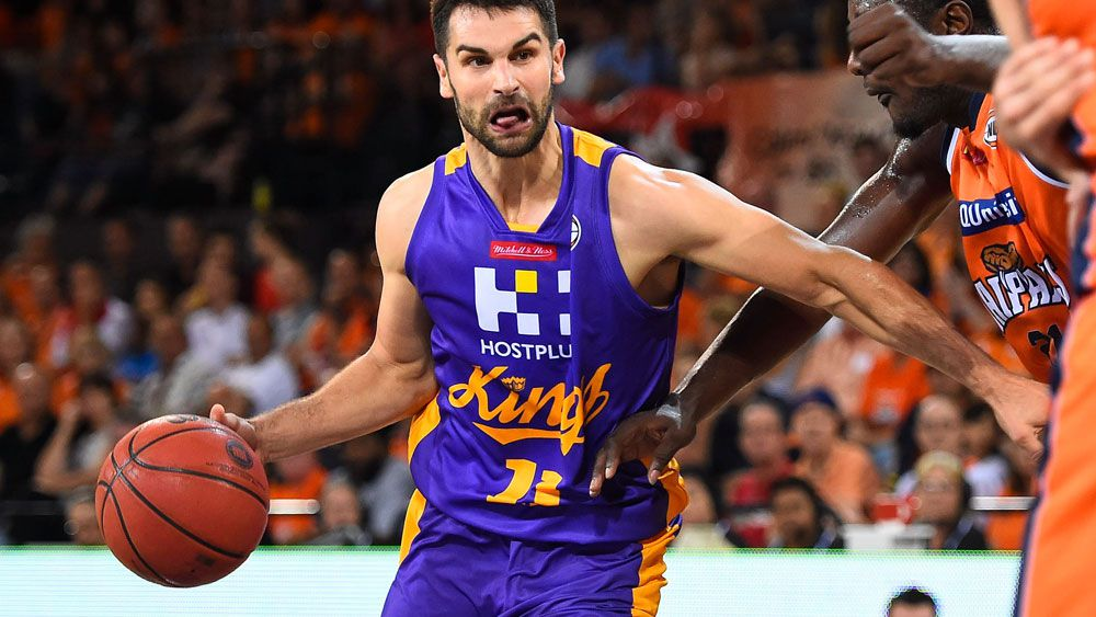 Kevin Lisch scored the match-winning basket for Sydney. (AAP)