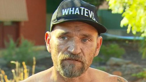 Warren Wittman raced to the aid of the young family. (9NEWS)