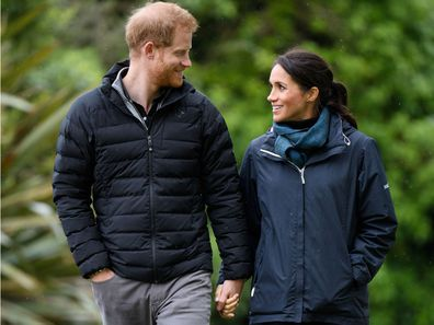 Prince Harry Meghan Markle New Zealand