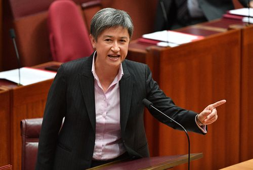 The motion was successful despite Labor and the Greens moving to delay a final vote and saying the package unfairly favours the wealthy. Picture: AAP.