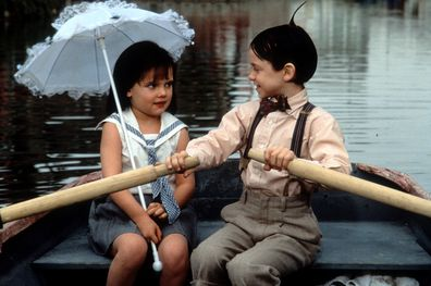 Bug Hall, Brittany Ashton Holmes, The Little Rascals, scene, 1994