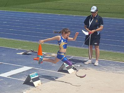 Emilee long jump