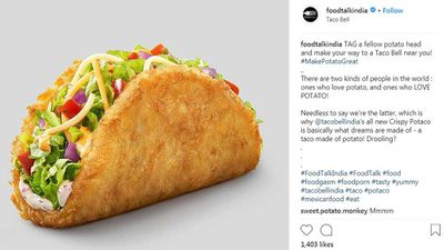 Crispy Potaco becomes available at Taco Bell