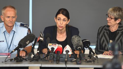 New Zealand PM Jacinda Ardern said the priority was to retrieve victims from the island.