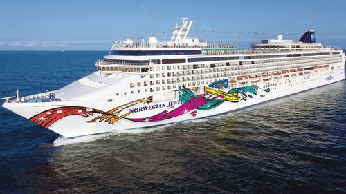 The Norwegian Jewel was refused entry to New Zealand, Fiji and French Polynesia.