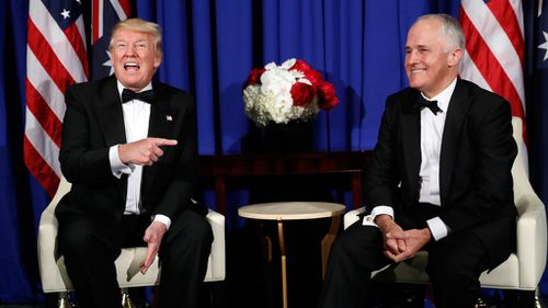 Robert Penfold: Turnbull gets his meeting with Trump after three-hour delay