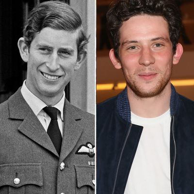 Prince Charles played by Josh O'Connor