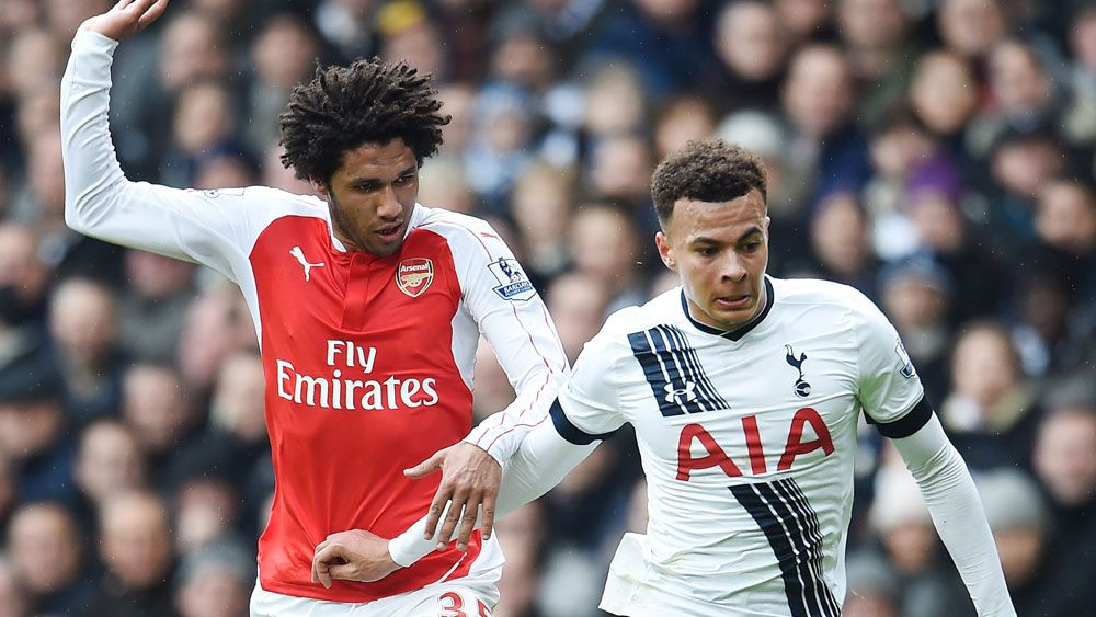 Spurs and Arsenal draw frantic EPL derby