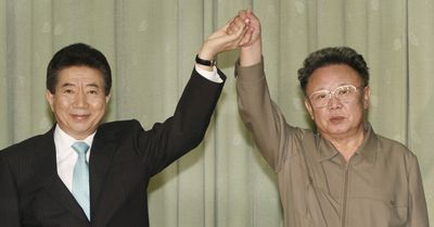 <p><b>Kim Jong Il: World Class Golfer</b></p>When Pyongyang's first golf course was opened in 1994, Kim Jong Il reported shooting 38 under par, including 11 holes-in-one. His bodyguards were put forward as witnesses to this feat. (AP)