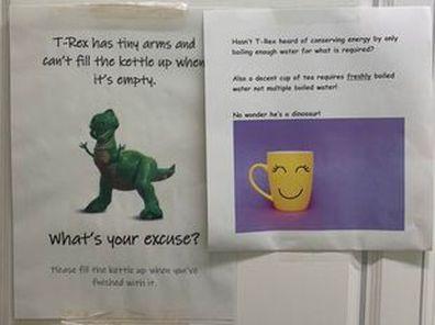 Office tea debate