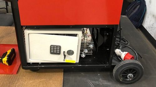 Police find 20kg of cocaine hidden in secret safe inside welding machines