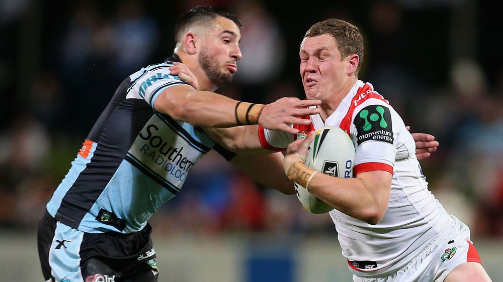 Sims leads Dragons to Sharks NRL boilover