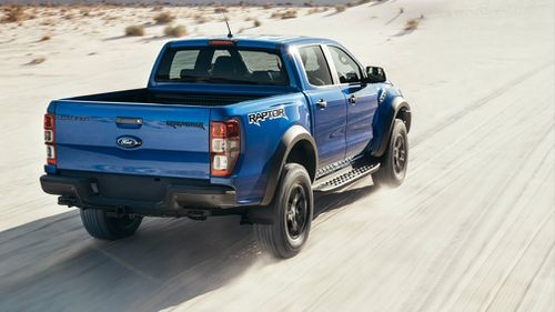 The Ford Ranger Raptor. Picture: Supplied