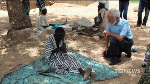 Dr Elliot and his wife have worked in the African nation since 1972. (Supplied)