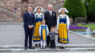 Princess Estelle and Prince Oscar celebrate Sweden's National Day, June 2018