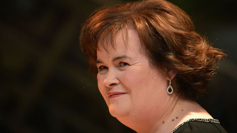 Susan Boyle's 'anal bum party' invite goes viral