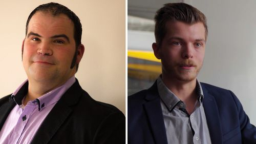 Matthew Day (left) and Aaron Pritchard (right) were the heads that took on the May 2021 cyberattack at Langs.
