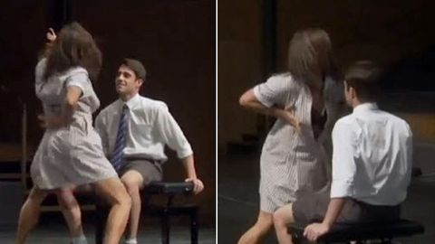 Must-watch: Ja'mie's lap dance to Ricki-Lee ... and her hilarious Twitter response!