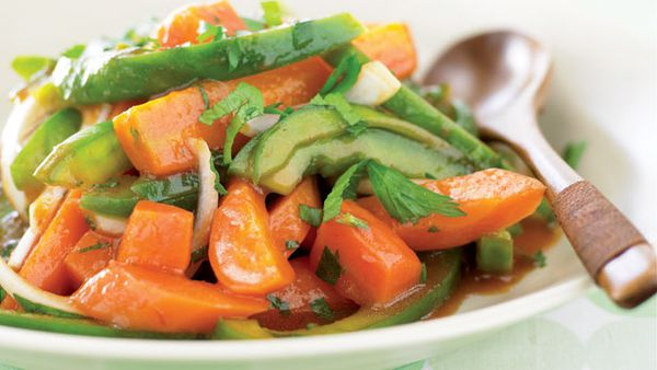 Marinated carrots