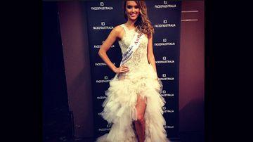 Miss Universe Australia finalist Kristy Coulcher (Instagram).