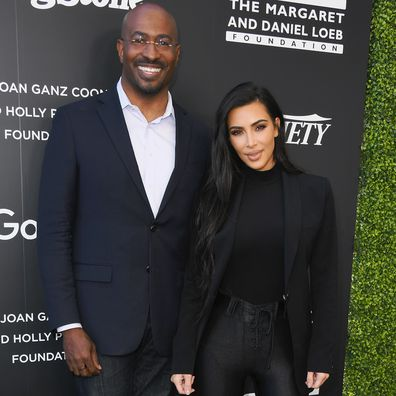 Van Jones and Kim Kardashian attend Variety And Rolling Stone Co-Host 1st Annual Criminal Justice Reform Summit at 1 Hotel West Hollywood on November 14, 2018 in West Hollywood, California.