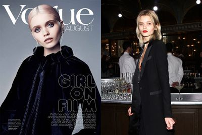 Ever since Melbourne's Abbey Lee Kershaw won <I>Girlfriend</I>'s model search in 2004, she's been making international waves. The blue-eyed babe made her move to NYC soon after the comp-win, walking for high fash-designers such as Oscar de la Renta, Alexander McQueen and Rodarte! <br/><br/>With a Victoria's Secret show also under the 27-year-old's belt, Abbey's changing her name for her film career! Introducing Abbey Lee... who's set to star in upcoming flicks,<i>Mad Max: Fury Road</I> alongside Tom Hardy and <i>Gods of Egypt</I> alongside Gerard Butler. <br/><br/>Sigh, some girls have all the luck. <br/>