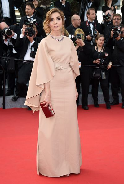 <p>Clotilde Courau in Valentino Haute Couture&nbsp;</p>