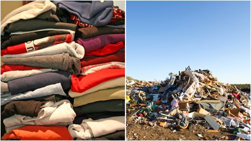 60,000 tonnes of donation waste going to landfill