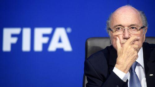 FIFA boss Sepp Blatter.