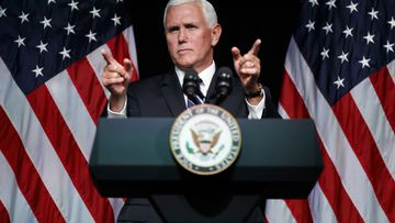 United States Vice President Mike Pence has announced the country will create its own 'Space Force'. Picture: AAP.