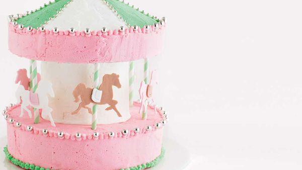 The galloping carousel birthday cake recipe