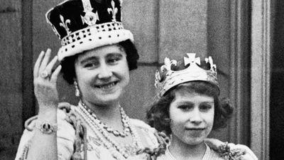 The Queen Mother (left), was  named Elizabeth. (AAP)