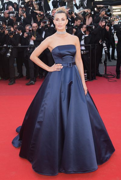 Italian actress Sveva Alviti at the 2017 Cannes Film Festival