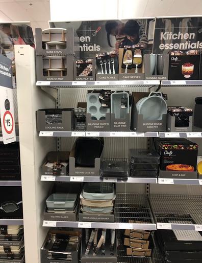 Coles luxury cookware