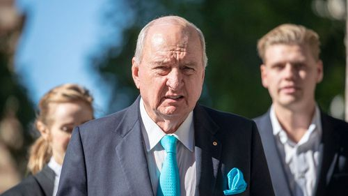 Alan Jones is being sued over comments he made during 32 broadcasts in 2014 and 2015.  Picture: AAP